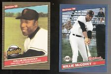 Lot of 2 Donruss Highlights & Originals  Willie McCovey San Francisco Giants HOF