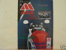MO8814-ENDURANCE LE MANS HONDA,SUZUKI GSX600F,MX 125 BAYLE,GP JAPAN SCHWANTZ,