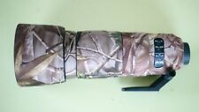 Camouflage Lens Cover for Nikon 200-500mm f5.6 ( Neoprene Camo )