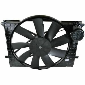 Radiator Cooling Fan & Motor for Mercedes Benz CL500 CL55 S430 S500 S55