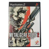 PS2 Metal Gear Solid 2: Sons of Liberty Video Game (Complete, 2001)