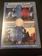 RoboCop (2 Disc SET, DVD) Dark Justice + Meltdown + Resurrection + Crash & Burn