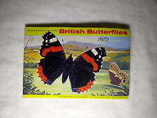 British Butterflies - Brooke Bond tea cards Album.