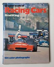 1973 Hardcover Book  All Color Book of Racing Cars by Brad King