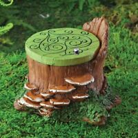 Fiddlehead Fairy garden accessories - Fairy hatch with hinged lid,