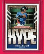 2015 Elite Extra Edition Hype #10 Rafael Devers RC Boston Red Sox Mint Free Ship