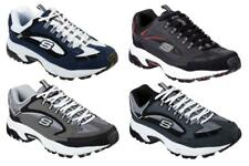 Skechers Men's Breathable Sneakers, 4 Colors in Medium D & Extra Wide 4E Widths