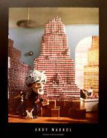 Pop Art Parodie by M. Steele Kunstdruck Sculptures Andy Warhol + Marilyn Monroe