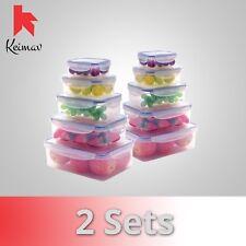 Keimavlock 10-Pc Airtight Food Storage 2 Piece Set