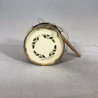 Hallmark Keepsake Ornament Favorite Tin Drum 1986 Christmas