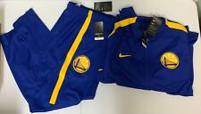 Golden State Warriors Nike Dry Tracksuit - Rush Blue - Mens SZ Large 923082 495