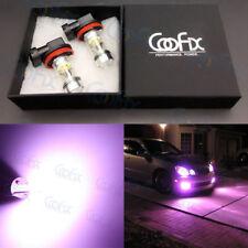 NEW 2x H8 H9 H11 H16 14000K Purple 100W LED CREE Headlight Bulbs Kit Fog Light