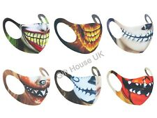 Halloween  Skull Fashion Mouth Nose Anti Dust Cover UK