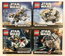 LEGO Star Wars Microfighters Series 3 Lot of 4 75125, 75126, 75127, 75128