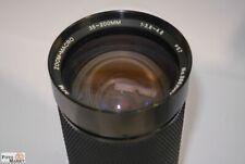 Canon FD Objektiv 35-200mm 1:3,8-4,8 MC Zoom + Macro 1:5 Soligor Zoomobjektiv