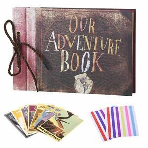 Our Adventure Book Scrapbook, Wedding Album, Unique DIY scrapbook, 80 Pages