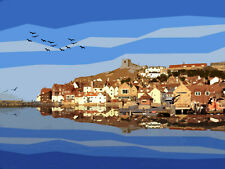 WHITBY POSTER Limited Edition Print By Sarah Jane Holt