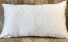 51cm X 30cm Prestigious Textiles Amina Limestone Handmade Cushion Cover
