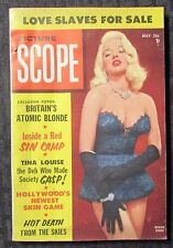1956 May PICTURE SCOPE Magazine v.4 #4 FN 6.0 Diana Dors - Tina Louise