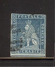 Italien Toskana Mi.Nr. 7y gestempelt Großherzogtum von 1853-1855 Löwe