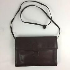Vintage Bottega Veneta Mahogany Cross Body shoulder bag, Small