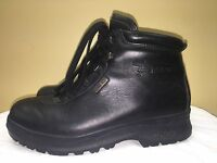 AKU LEATHER HIKING BOOTS MEN'S 6.5 M Black /Gortex /Thinsulate /Made in Italy