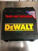 Dewalt New 2 Tools One Charger Two Batteries Hard Case Empty DCD996 DCF887