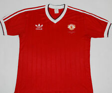 1983 MANCHESTER UNITED FA CUP WINNERS ADIDAS HOME FOOTBALL SHIRT (SIZE L)