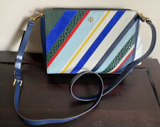 Tory Burch Crossbody NEW Stripe Blake Handbag
