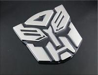 Transformers Autobot 3D Metal Logo Emblem Badge Car Decal Truck Car Body Sticker
