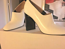 New Maison Margiela Paris calfskin lux ankle boot asymm heel in box 38.5/9