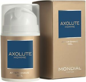 After Shave Gel Axolute Mondial 50ml Sedative Fresh Menthol-öl Made IN Italy