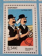 FRANCE 2007, timbre 4054 neuf**, BD TINTIN, LES DUPONDT, COMICS, MNH STAMP