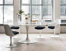 Tavolo Saarinen Tulip bianco ovale 198x120 cm marmo spedizione pallet