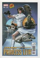 STAR WARS PRINCESS LEIA no. 1 Dynamic Forces variant 2015 Marvel Comics NM 0651