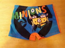 Boys Character Swimming Pants Shorts Trunks age 3 Minions Brand New Tags