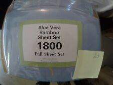 Aloe Vera Bamboo Sheet Set Full Size Different Colors Brand New Organic 1800