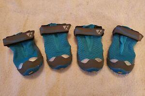 RUFFWEAR GRIP TREX BOOT SET OF 4 2.0 IN 51MM BLUE