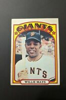 1972 Topps Willie Mays Baseball Card #49 SanFrancisco Giants *NM*