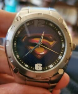 FOSSIL SUPERMAN RETURNS WATCH (#LL1050) *HTF* LIMITED TO 500 PIECES