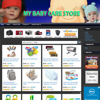 BABY CARE STORE - Established Online Business Website For Sale Free Domain Name!
