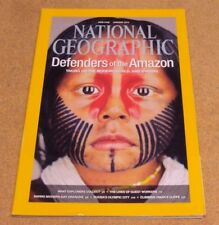 National Geographic January 2014 Defender Amazon Russia's Olympic Oman's Cliffs