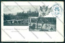 Varese Valcuvia Brenta Cittiglio Militari cartolina QQ6776
