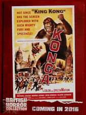 BRITISH HORROR COLLECTION - PAUL STOCKMAN, Konga! - PREVIEW Card PR12