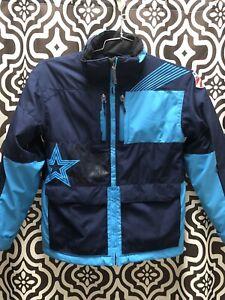 Spyder US Ski Team Racing Kid's Winter Skiing  Snow Jacket Thinsulate Waterproof