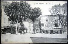 FRANCE~1900's LA TURBIE ~ Place Detras ~ Restaurant de Ville ` CAFE du Coq