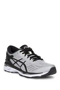 $160 NWT ASICS – GEL-Kayano 24 Mens Active Running Shoe Sz 8 Silver Black