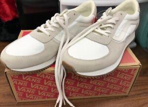 Vans Runner Blanc de Blanc Suede Shoes Brand New w/ Box Men's 7.5 Women's 9