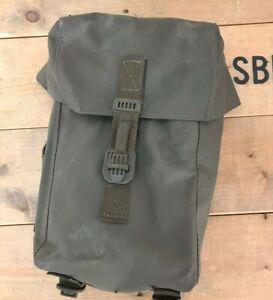 Vintage Swiss Army Military Bag Bicycle Pannier Plastic Waterproof