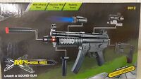 Electric Toy MP5 Machine Gun Electric plastic toy gun Submachine Gun Laser Point